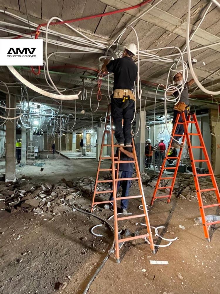 AMV Construcciones, Reformas integrales de grandes superficies, Hiperdino en el Pueblo de Guimar, Tenerife