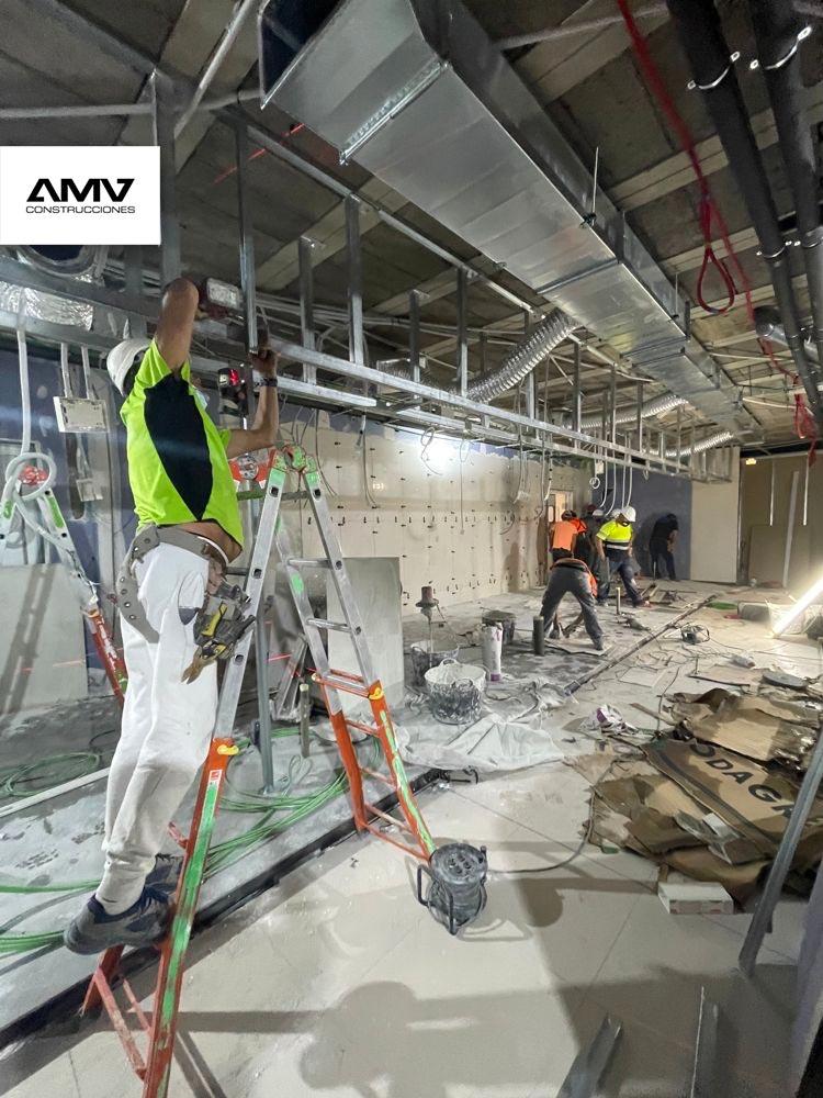 AMV Construcciones- Reforma integral de Hiperdino Guimar, Pueblo - Santa Cruz de tenerife